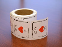 I Heart Soil Stickers Arabic - Roll of 250