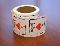 I Heart Soil Stickers Dutch - Roll of 250