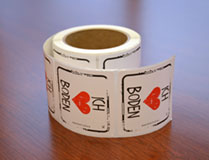I Heart Soil Stickers German - Roll of 250