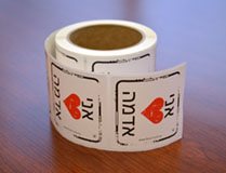 I Heart Soil Stickers Hebrew - Roll of 250